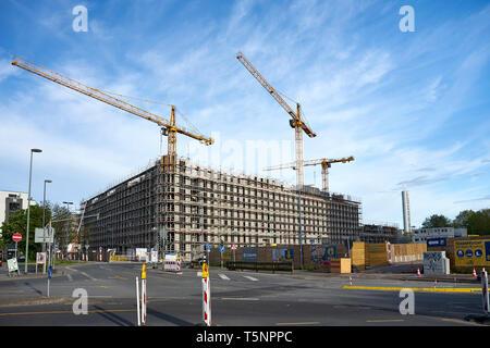Bau des Goethequartiers im Stadtteil Kaiserlei in Offenbach - Stock Photo