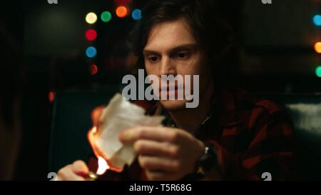 AMERICAN ANIMALS 2018 de Bart Layton Evan Peters. Prod DB © Film4 - New Amsterdam Film Company - RAW / DR - Stock Photo