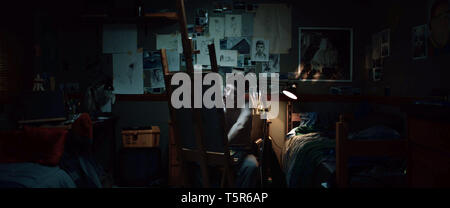 AMERICAN ANIMALS 2018 de Bart Layton Barry Keoghan. Prod DB © Film4 - New Amsterdam Film Company - RAW / DR - Stock Photo