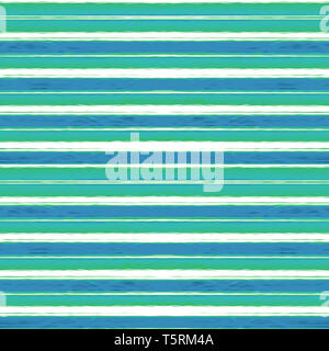 Digital technique abstract geometric stripes horizontal pattern background design in pastel cold colors - Stock Photo