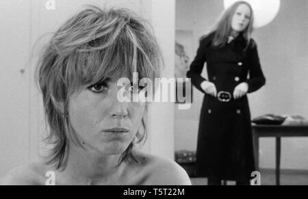 LA SALAMANDRE 1971 de Alain Tanner Bulle Ogier Veronique Alain. Prod DB © Filmograph S.A. - Forum Films - Svocine / DR - Stock Photo