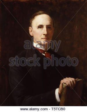 John Morley, 1st Viscount Morley of Blackburn - Walter William Ouless - Stock Photo