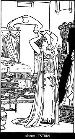 Cinderella is a fairy tale by artist it is identified as one of the best articles felt that her end was drawing vintage line drawing or engraving illu - Stock Photo