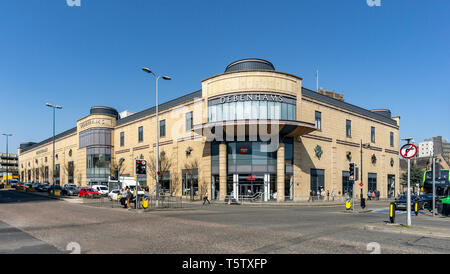Department store Debenham in Overgate shopping centre Dundee Scotland UK - Stock Photo