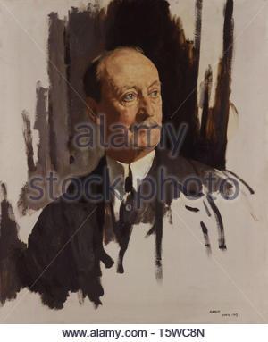 Charles Hardinge, 1st Baron Hardinge of Penshurst - Sir William Orpen - Stock Photo