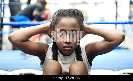 THE FITS 2015 Yes, Ma'am film with Royalty Hightower - Stock Photo