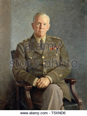 Thomas Edgar Stephens-George C. Marshall - Stock Photo