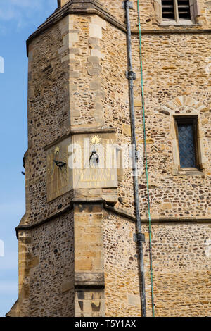 St Botolphs Church, Trumpington Street, Cambridge, Cambridgeshire - Stock Photo