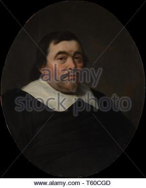 Bartholomeus van der Helst-Portrait of a Man - Stock Photo