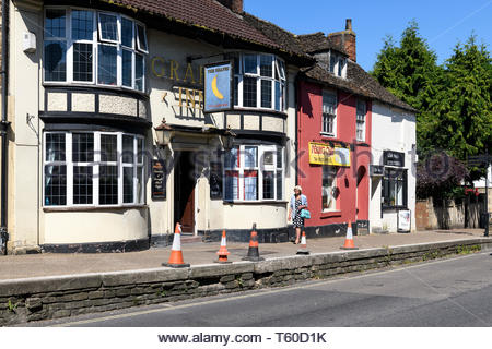 The Grapes Inn, Melksham, Wiltshire, England, UK - Stock Photo