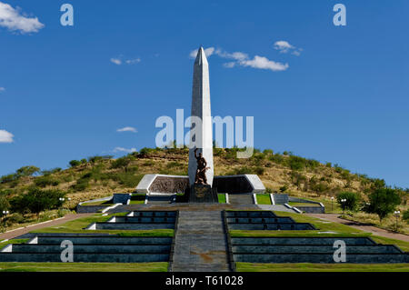 War memorial 'National Heroes' Acre' near Windhoek Namibia - Stock Photo