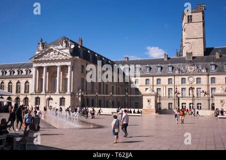 The Picturesque city of Dijon in the Burgundy region of France - Stock Photo
