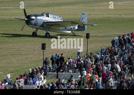 Picture by Tim Cuff - 20 April 2019 - Omaka Air Show, Blenheim, New Zealand - Stock Photo