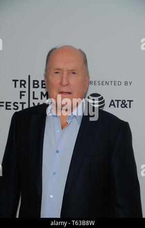 NEW YORK, NY - APRIL 28: Robert Duvall attends 'Apocalypse Now' - 40 Years And Restoration during the 2019 Tribeca Film Festival at Beacon Theatre. - Stock Photo