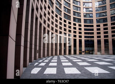 European Parliament, Strasbourg, Alsace, France - Stock Photo