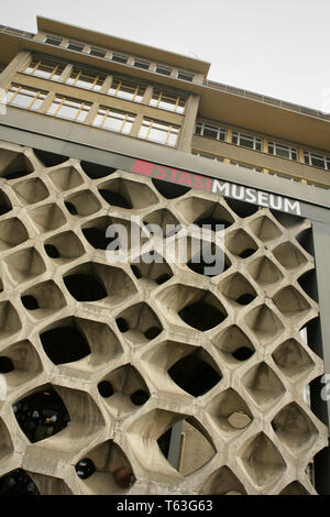 The Stasi Museum, Berlin, Germany, housed in the previous HQ of the Stasi. - Stock Photo