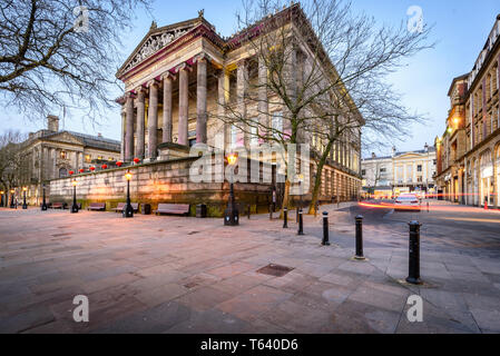 The Harris museum and art gallery is located in the town centre of Preston , Lancashire. - Stock Photo