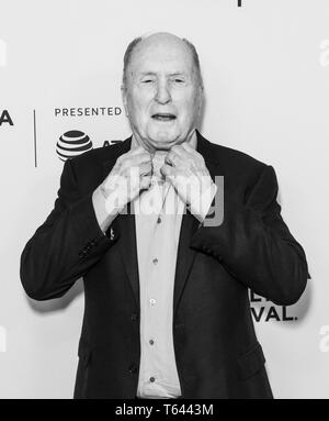 New York, NY - April 28, 2019: Robert Duvall attends world premiere of Apocalypse Now Final Cut at Beacon Theatre - Stock Photo