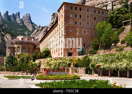 Montserrat Monastery, Barcelona, Catalonia, Spain.
