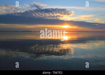 Lake chiemsee, Bavaria, Germany - Stock Photo