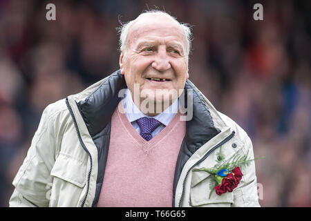 LONDON, ENGLAND - APRIL 27: former football player Mark Lazarus attending the Premier League match between Crystal Palace and Everton FC at Selhurst Park on April 27, 2019 in London, United Kingdom. (Photo by Sebastian Frej/MB Media) - Stock Photo