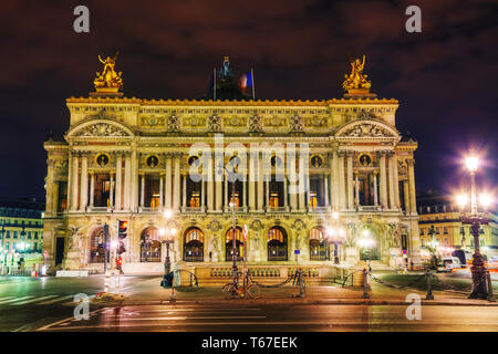 The Palais Garnier (National Opera House) in Paris, France - Stock Photo