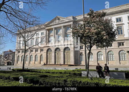 University of Porto exterior view of Natural History building in spring Porto Portugal Europe EU  KATHY DEWITT - Stock Photo