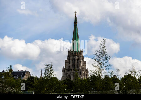 The American Church in Paris, France - Stock Photo