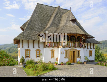 Barsana Monastery - Museum - Stock Photo
