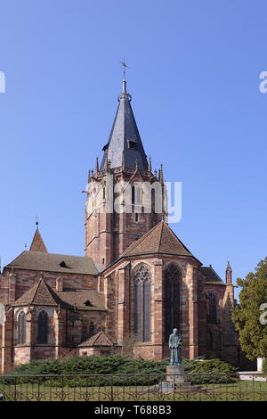 Collegiate Church of Saints Peter and Paul - Stock Photo