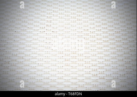White cream plastic surface with repeating pattern. - Stock Photo