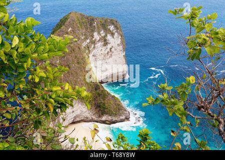 dream Bali Manta Point Diving place at Nusa Penida island - Stock Photo