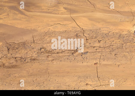 Mars Mud Ground - Stock Photo