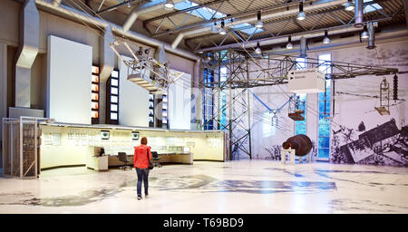 Working World Exhibition DASA, Dortmund, Ruhr Area, North Rhine Westphalia, Germany, Europe - Stock Photo