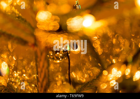 Abstract blurry christmas background - Stock Photo