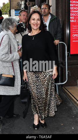 London Coliseum, UK. 30th Apr 2019. Arrivals at Man of La Mancha, at London Coliseum on 30 April 2019, London, UK. Credit: Picture Capital/Alamy Live News - Stock Photo
