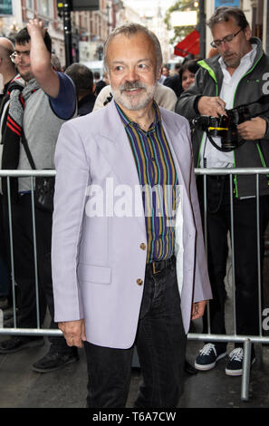 London, UK. 30th Apr, 2019. Graham Norton attends the 'Man of La Mancha' opening night at the London Coliseum on April 30, 2019 in London, United Kingdom. Credit: Gary Mitchell, GMP Media/Alamy Live News - Stock Photo