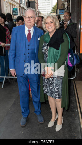 London, UK. 30th Apr, 2019. Michael Whitehall attends the 'Man of La Mancha' opening night at the London Coliseum on April 30, 2019 in London, United Kingdom. Credit: Gary Mitchell, GMP Media/Alamy Live News - Stock Photo