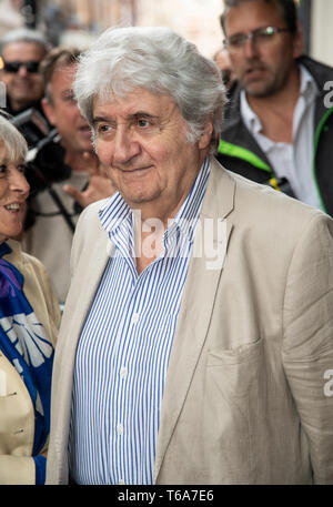 London, UK. 30th Apr, 2019. Tom Conti  attends the 'Man of La Mancha' opening night at the London Coliseum on April 30, 2019 in London, United Kingdom. Credit: Gary Mitchell, GMP Media/Alamy Live News - Stock Photo
