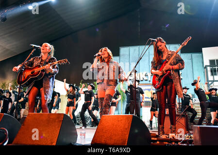 Indio, California - April 27, 2019 Honey County released 'Country Strong' the official song of Stagecoach 2019. - Stock Photo