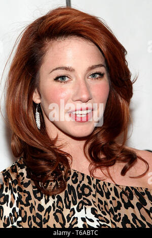 """New York, USA. 30 Apr, 2007.  Lynn Collins at the Tribeca Film Festival Premiere for the movie """"Numb"""" at The Clearview Chelsea West on April 30, 2007 in New York, NY. Credit: Steve Mack/S.D. Mack Pictures/Alamy - Stock Photo"""