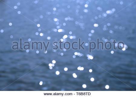defocused water bokeh background - Stock Photo