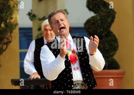 German Schlager Musicians Kastelruther Spatzen in TV-Show, 2015 - Stock Photo