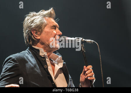 Denmark, Roskilde - June 17, 2018. The English singer and songwriter Bryan Ferry performs a live concert at Roskilde Kongrescenter in Roskilde. (Photo credit: Gonzales Photo - Bo Kallberg). - Stock Photo