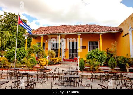Casa de la Musíca / Trinidad Cuba - Stock Photo