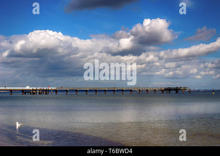 Timmendorf Beach 001. Germany - Stock Photo