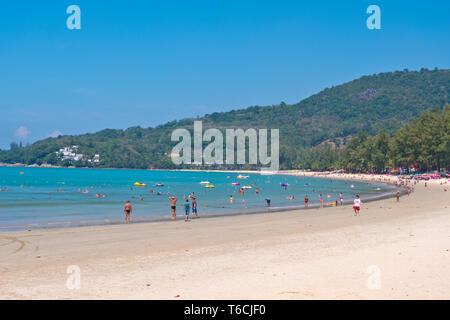 Hat Kamala, beach, Kamala, Phuket island, Thailand - Stock Photo