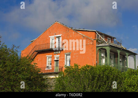 Old house in New Orleans - Stock Photo