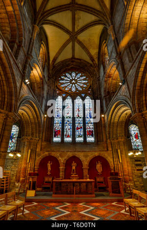 Kirkwall Cathedral; Orkney; UK - Stock Photo