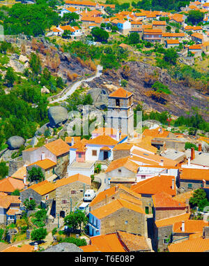 Monsanto village aerial view. Portugal - Stock Photo